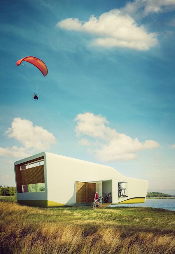 Sport Hauz. Projekt: Front Architects