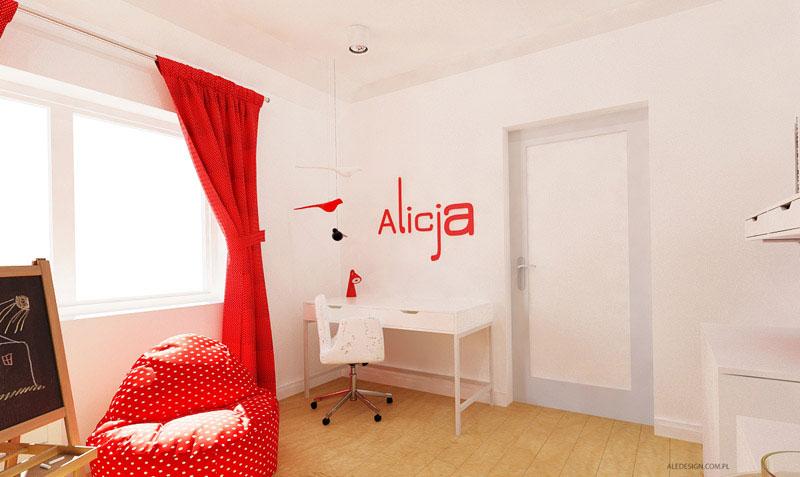 Wnętrza mieszkania w budynku Villa Lux w Dąbrowie Górniczej. Projekt: Grzegorz Grzywacz