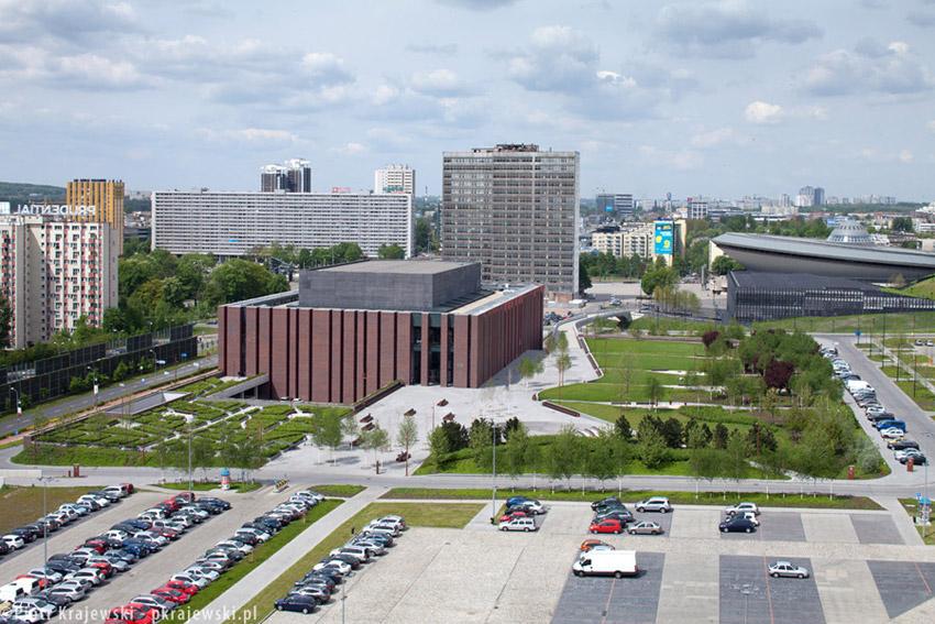 Siedziba NOSPR w Katowicach. Projekt: Konior Studio. Zdjęcia: Piotr Krajewski