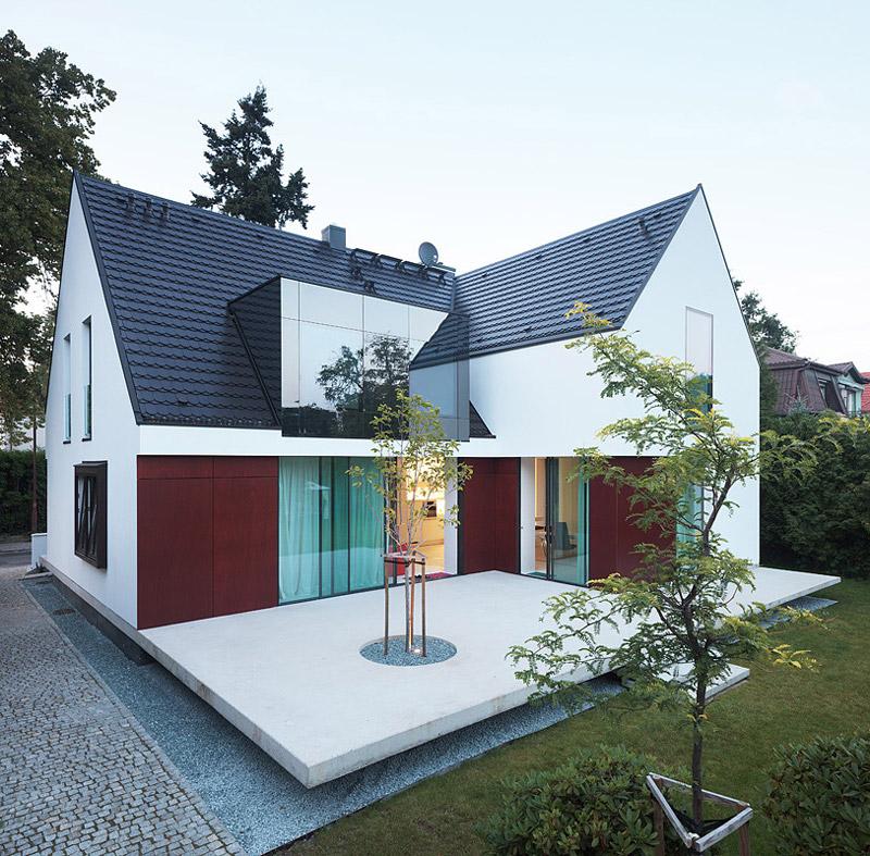 100 procent domu. Projekt: KMA Kabarowski Misiura Architekci