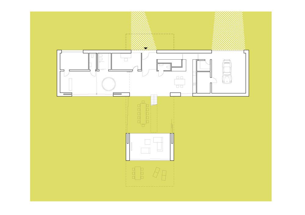 Living-Garden House w Katowicach. Projekt: Robert Konieczny - KWK Promes