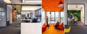 Wnętrza biurowe agencji interaktywnej Digital One projektu Libido Architekci
