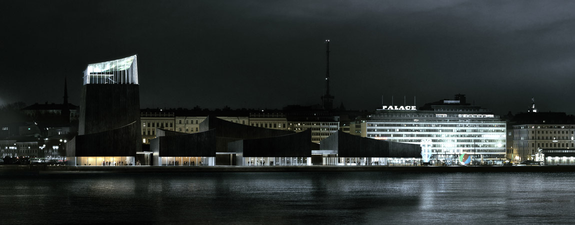 Guggenheim Museum Helsinki. I Nagroda w konkursie: © Moreau Kusunoki Architects