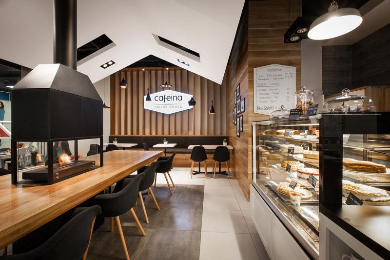 Kawiarnia Cafeina. Projekt: mode:lina architekci