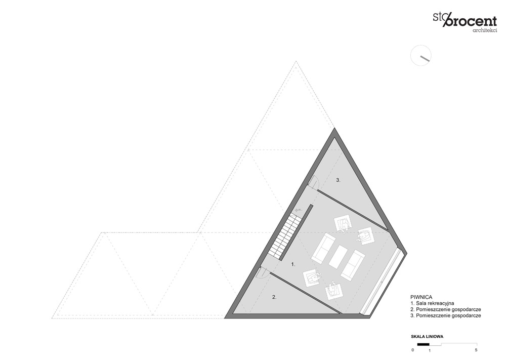Dom X pod Warszawą. Projekt: STOPROCENT Architekci