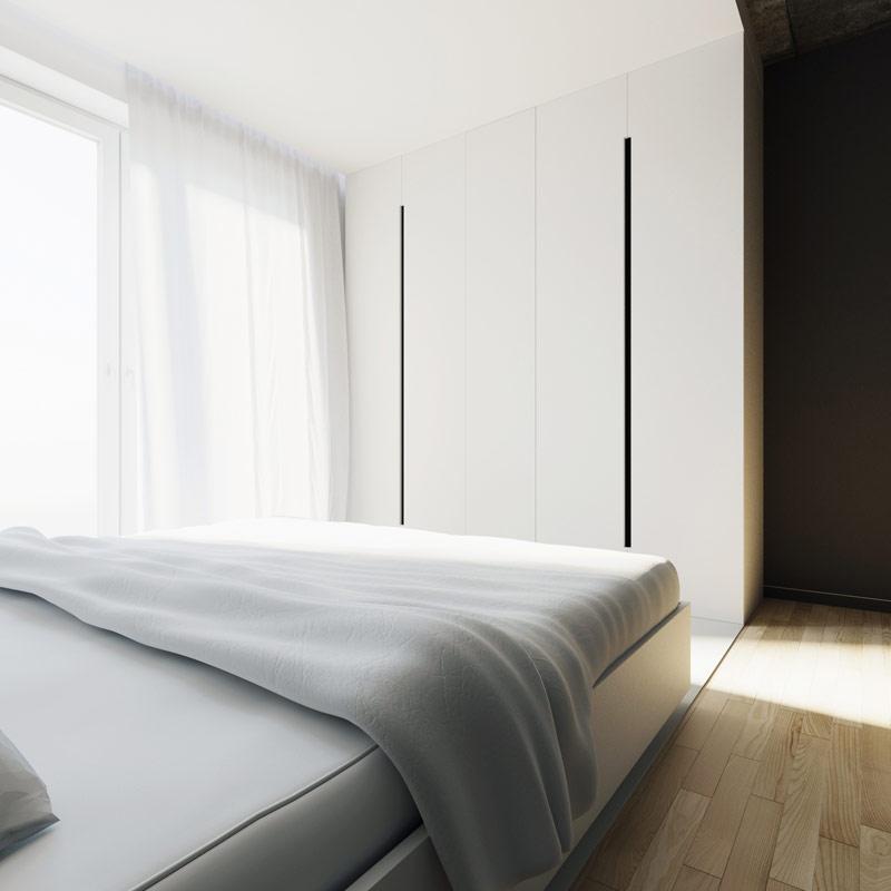 Aranżacja wnętrza mieszkania w Lublinie. Projekt: 081 Architekci