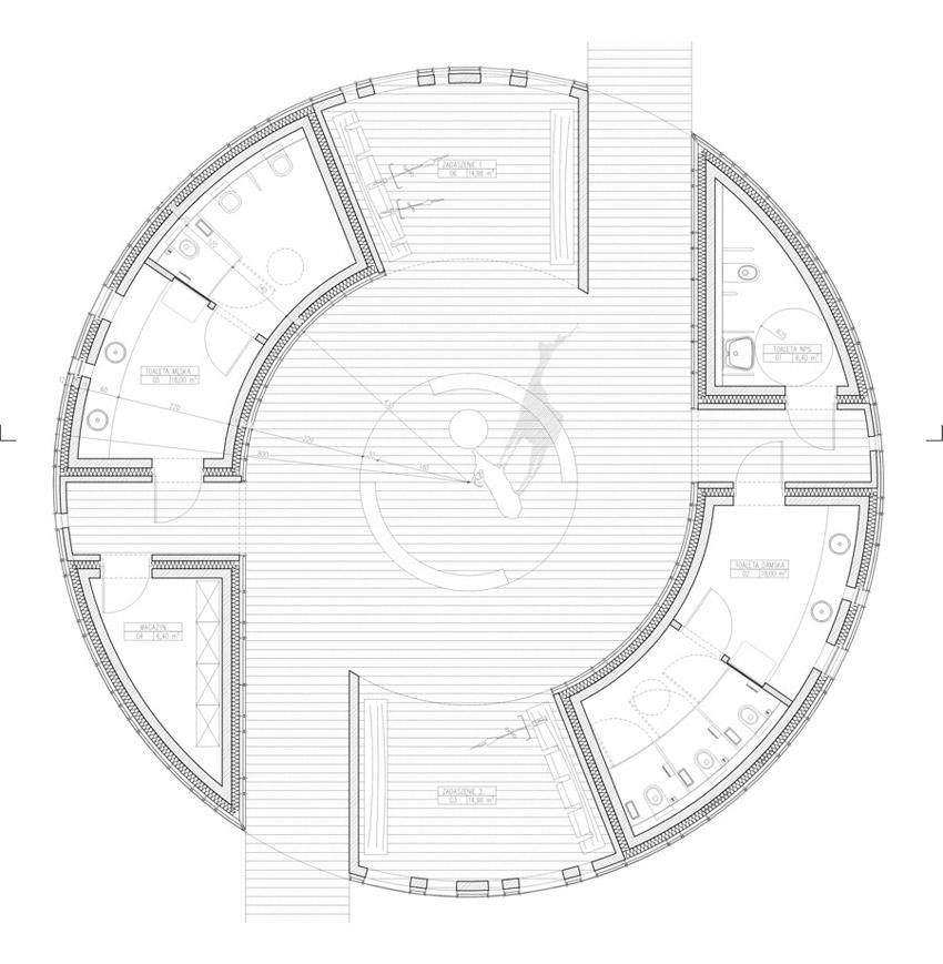 Konkurs na projekt łazienki KOŁO 2015. Projekt konkursowy: Banach Architekci