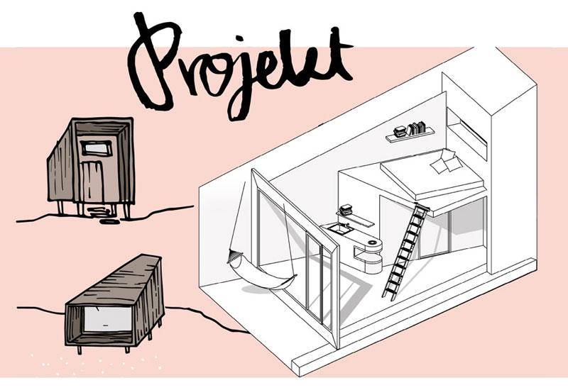 Naturalny ekologiczny dom z drewna, słomy i gliny w Kotlinie Kłodzkiej. Projekt: Mech Build
