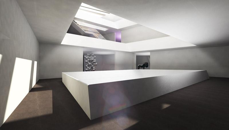 Muzeum Sztuki Współczesnej w Poznaniu. Autor pracy dyplomowej:  Jakub Pakos
