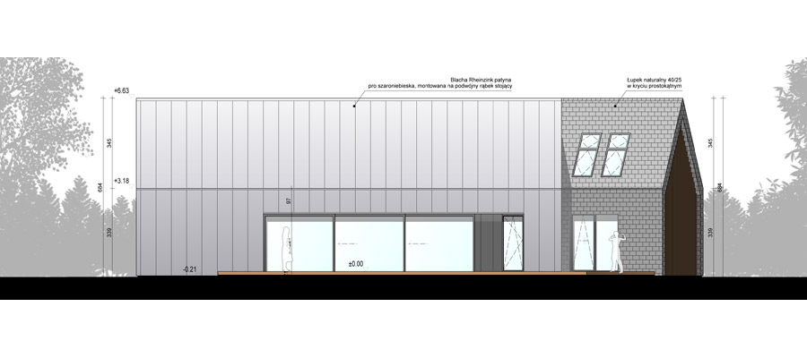 Dom dwie stodoły w Tychach. Projekt: RS+ Robert Skitek