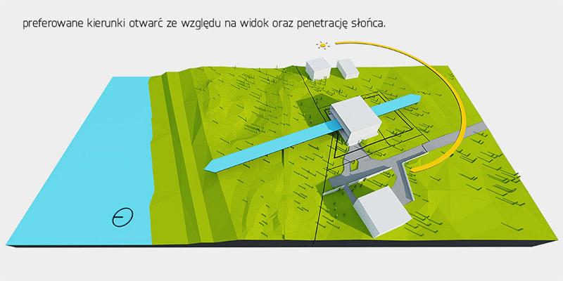 Dom na wydmie. Projekt: Tamizo Architects Mateusz Stolarski