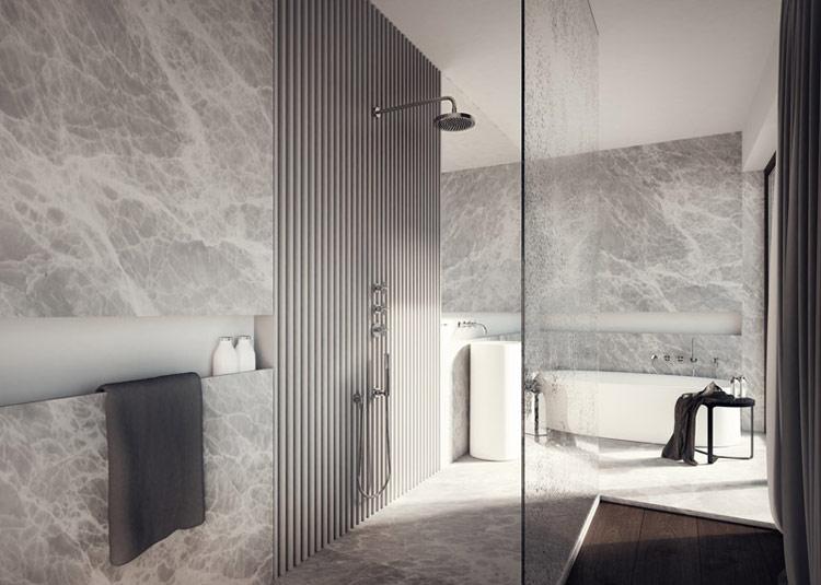 Kompleks Park Avenue Apartments w Krakowie. Wnętrza: TAMIZO Architects Mateusz Stolarski