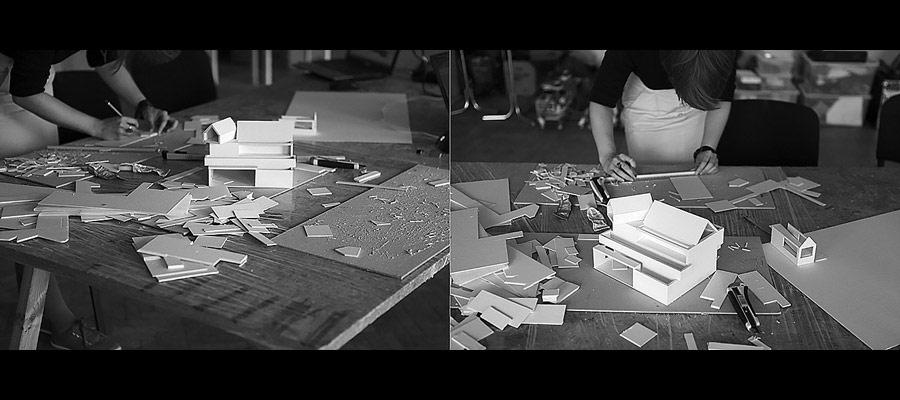 Dom Podwodny i Stodoła Ćwiczeń. Projekt: BXBstudio Bogusław Barnaś
