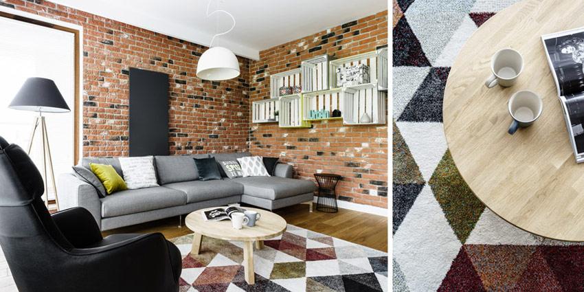 Wnętrza mieszkania na osiedlu Garnizon w Gdańsku. Projekt: Pracownia Projektowa Dragon Art