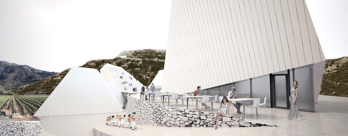 Dyplomy Architektury: Winiarnia w Maladze projektu Wojciecha Kozłowskiego