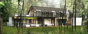 Dom w Osowej projektu MIDI Architekci
