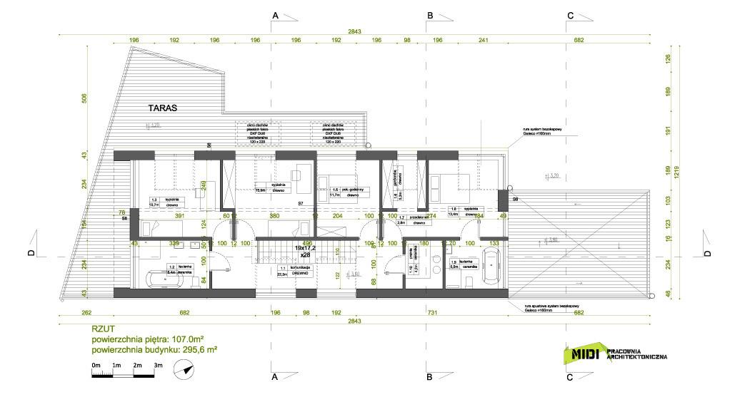 Dom w Osowej. Projekt: MIDI Architekci