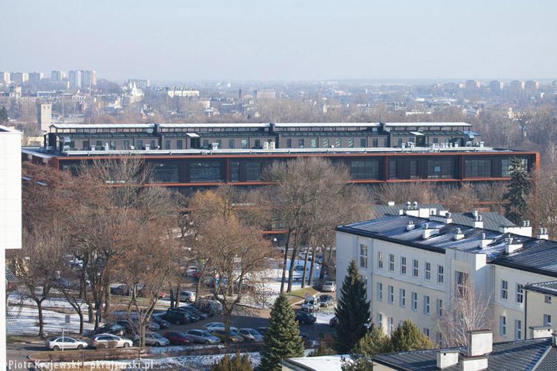 Centrum Innowacji i Zaawansowanych Technologii w Lublinie. Projekt: AMC – Andrzej M. Chołdzyński. Zdj. Piotr Krajewski