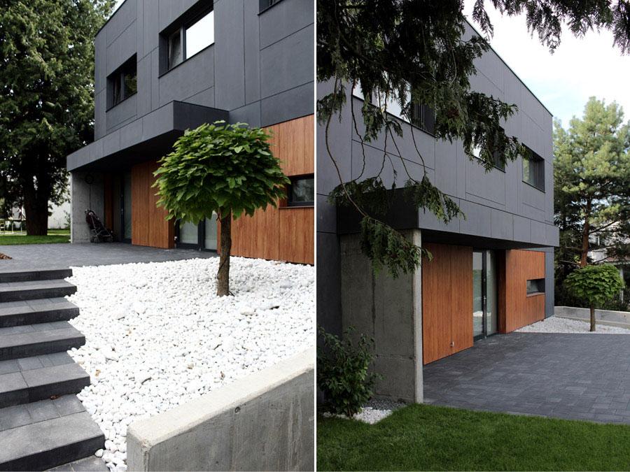 Dom jednorodzinny w Gdyni. Projekt: Easst.com