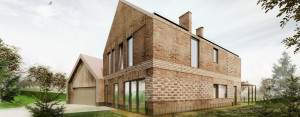Dom w Swoszowicach pod Krakowem projektu Grycaj Design