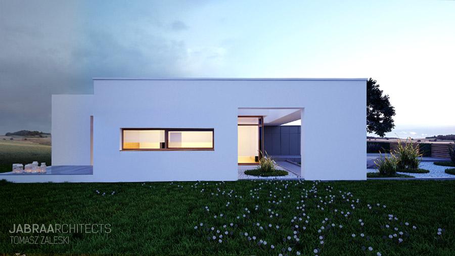 Dom na Horyzoncie. Projekt: JABRAARCHITECTS