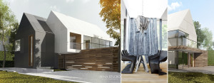 Dom jednorodzinny nad morzem projektu MAKA Studio