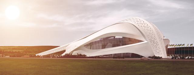 Dyplomy Architektury: Pawilon czterech pór na Ukrainie pod Kijowem projektu Sebastiana Macioszka