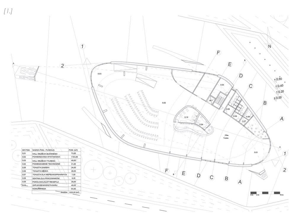 Dyplomy Architektury: Pawilon czterech pór na Ukrainie pod Kijowem. Projekt: Sebastian Macioszek