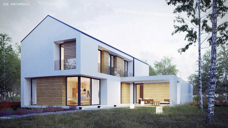 Dom Szczery. Projekt: Z3Z Architekci