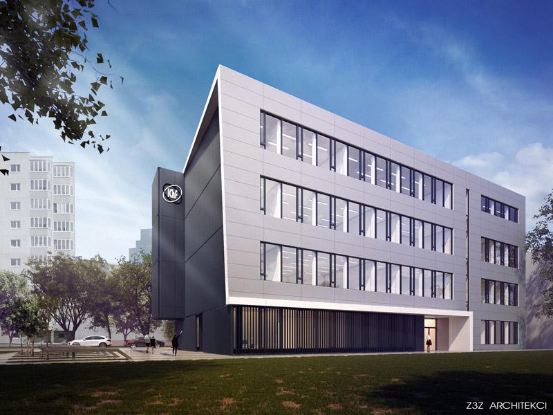 Instytut Chemii Fizycznej Polskiej Akademii Nauk w Warszawie. Projekt: Z3Z Architekci