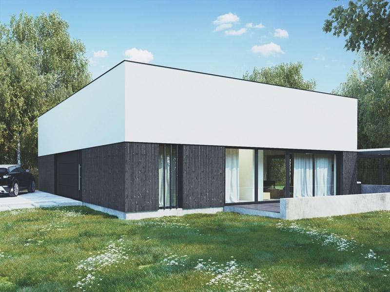 Dom na jeziorem: Projekt: 081 Architekci