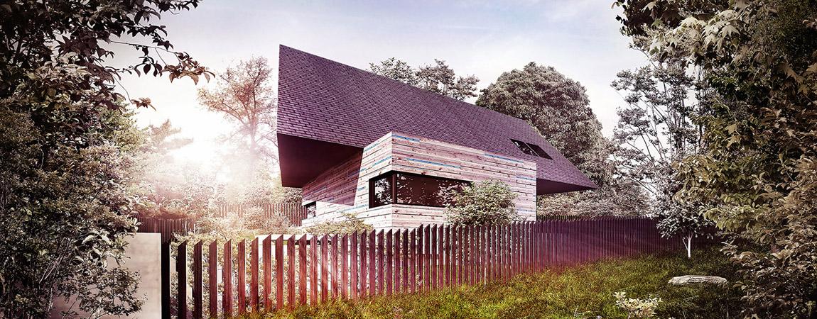 Dom Małopolski. Projekt: BXBstudio Bogusław Barnaś