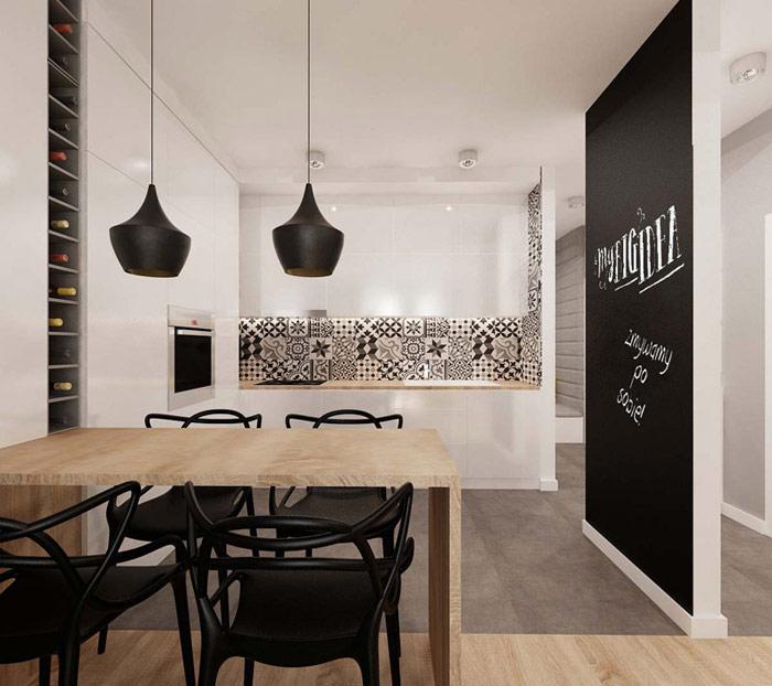 Mieszkanie na osiedlu Nowe Aleje w Dąbrowie Górniczej. Projekt wnętrz: Grzegorz Grzywacz, Magdalena Paszkowska