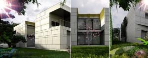 Wratislawia House – Dom w duchu modernizmu projektu JABRAARCHITECTS