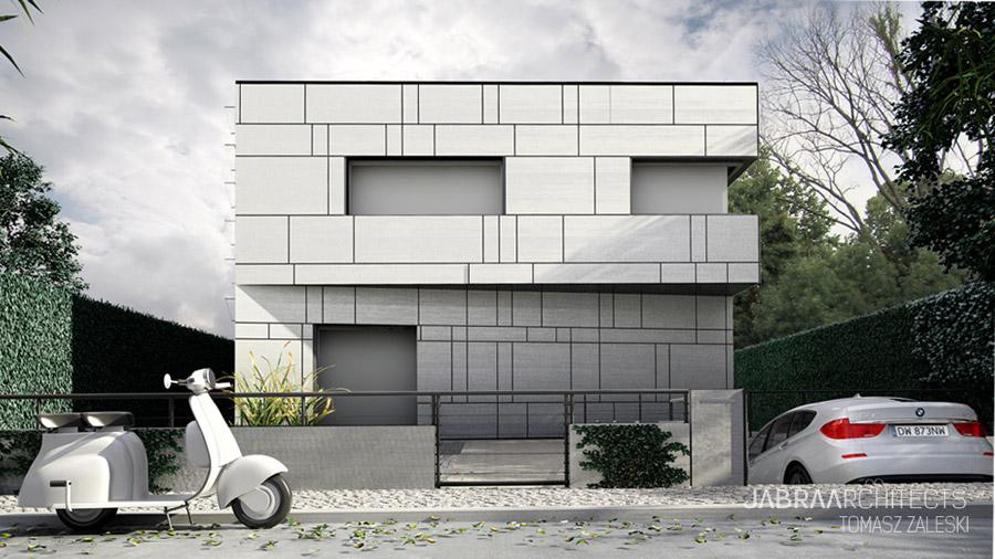 Wratislawia House - Dom w duchu modernizmu. Projekt: JABRAARCHITECTS