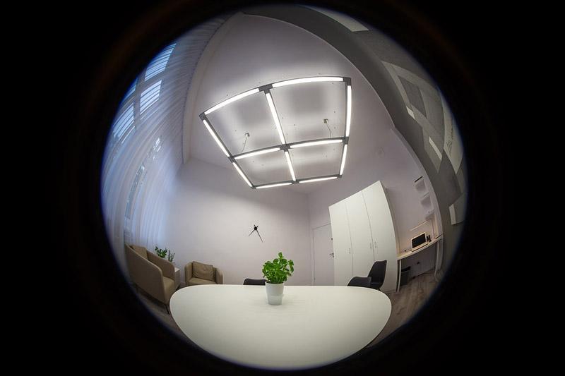 Biuro mediatora w Cieszynie. Projekt wnętrz: Musk Collective Design