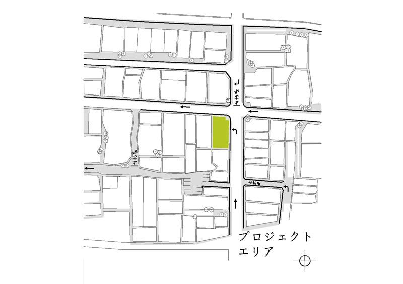 Curtain House. Projekt domu w Sakai, w Japonii. Autor: Karolina Szkapiak | SK Architekci
