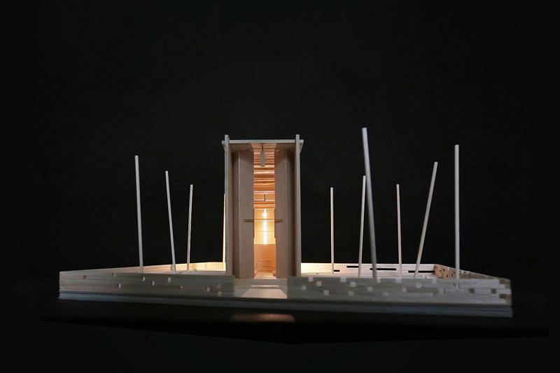Polski kościółek zrębowy. Projekt: BXBstudio Bogusław Barnaś