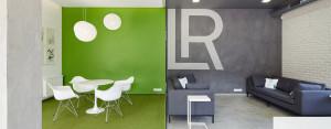 Wnętrza polskich biur LR Health & Beauty projektu studia Czajkowski Kuźniak Architekci