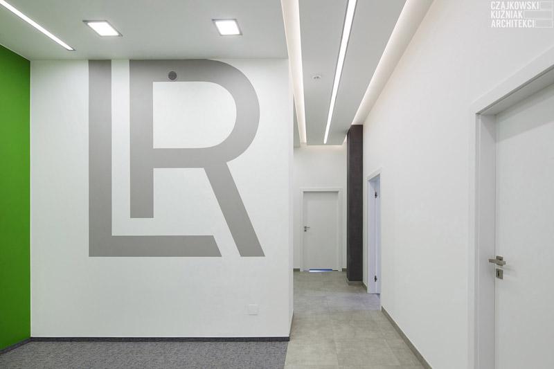 Wnętrza polskich biur LR Health & Beauty. Projekt: Czajkowski Kuźniak Architekci