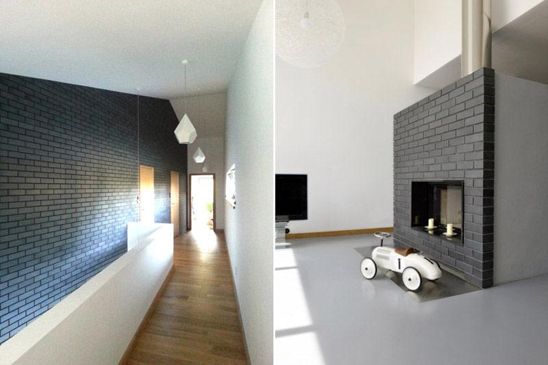 Dom jednorodzinny w Bądzyniu. Projekt: Domagało Wnuk Architekci
