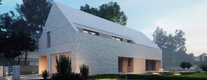 Dom w Żorach projektu MUS Architects