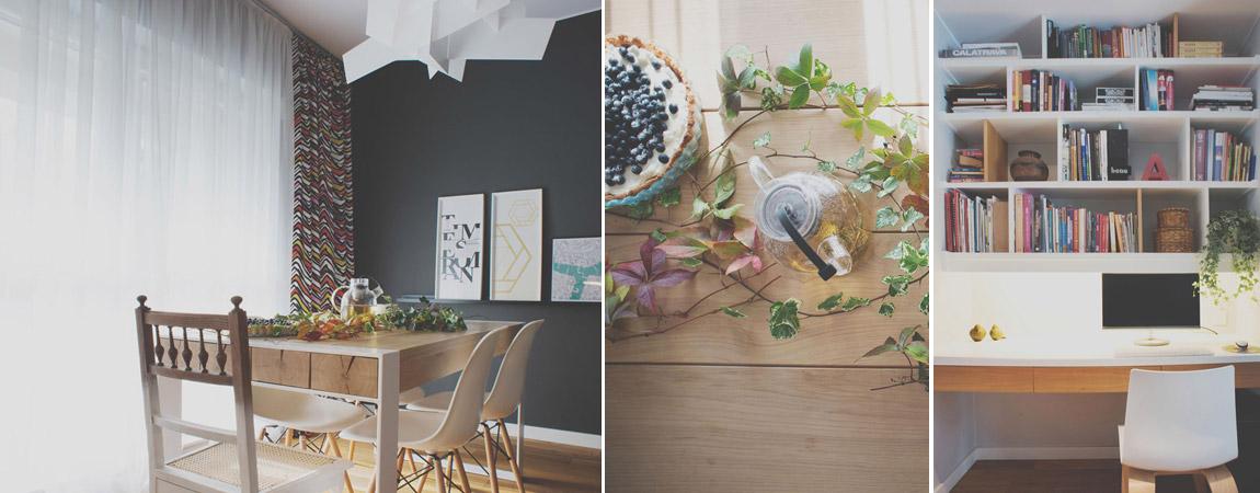 Mieszkanie z duszą na wrocławskim osiedlu. Projekt: NAMARU Design | Ilona Marus