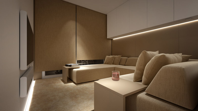 Nadmorski apartament we Francji. Pracownia: Oporski Architektura