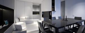 Aranżacja wnętrz mieszkania w Warszawie – Oporski Architektura