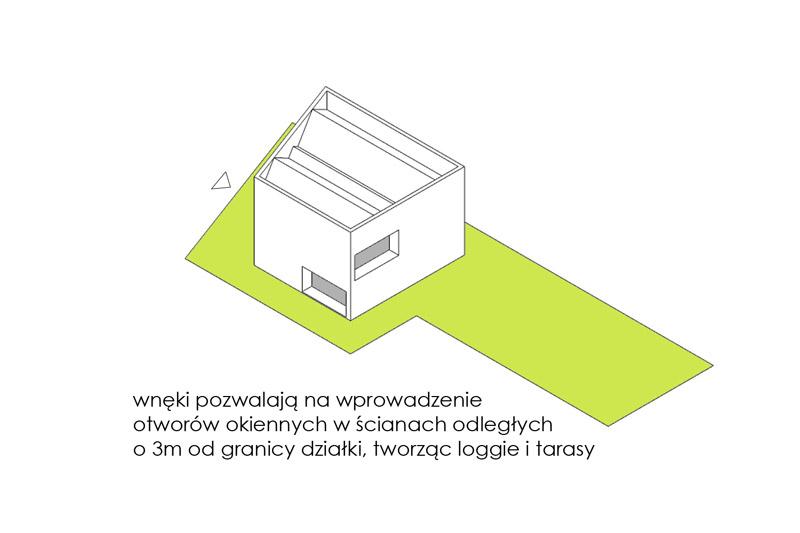 Dom L w Warszawie. Projekt: MFRMGR Frejda & Gratkowski Architekci