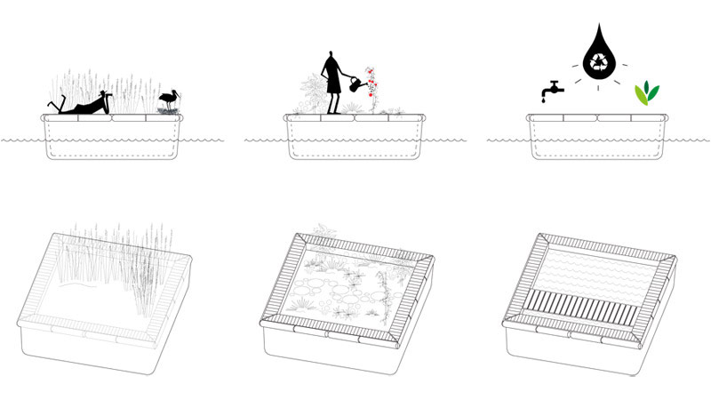 Projekt TORP - Adaptacja wojskowej wieży na apartamenty. Autorzy: MFRMGR Frejda & Gratkowski