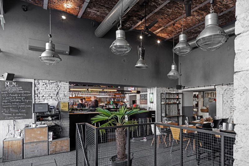 Gastrobar MOMU w Warszawie. Projekt wnętrz: Moko Architects. Zdjęcie: Alexandra Dermont   Ayuko Studio