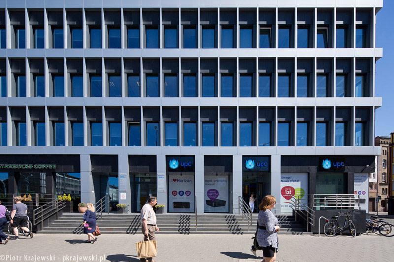 Biurowce na Bramie Portowej w Szczecinie. Projekt: T33-Architekci oraz Bogue Trondowski Architects. Zdjęcia: Piotr Krajewski
