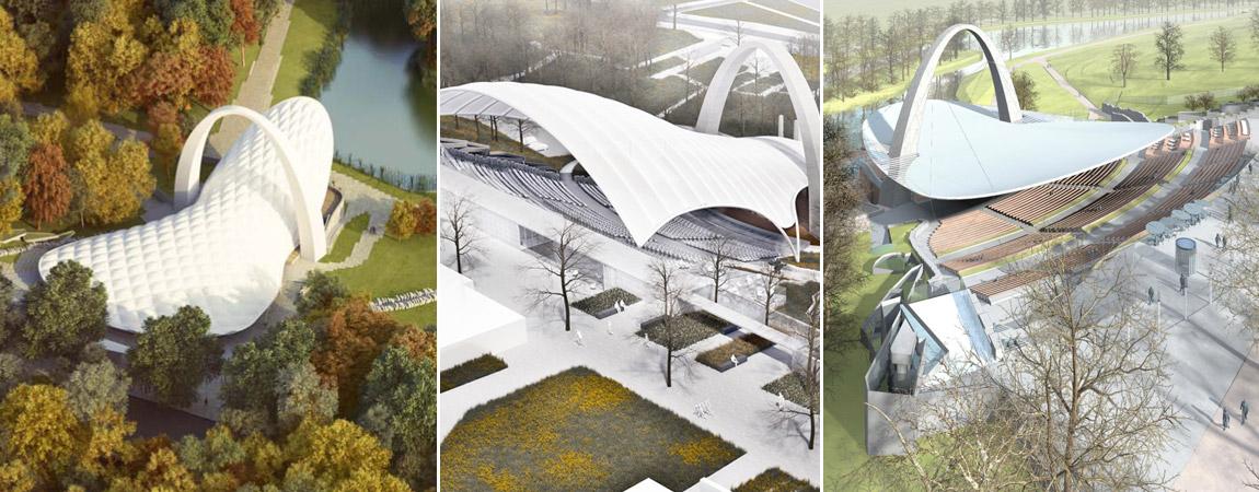 Konkurs na projekt przebudowy Teatru Letniego w Szczecinie - Nagrodzone prace